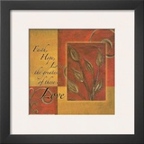 Spice Blocks, Faith Hope Love Prints by Maria Girardi
