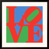 Classic Sky Love Prints by Robert Indiana