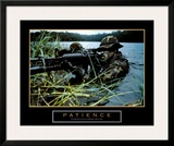 Patience, Soldier Print