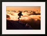Challenge: Skier in Clouds Prints