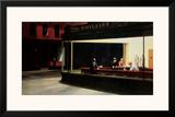 Notívagos, cerca de 1942 Pôsters por Edward Hopper