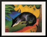 Fox, c.1913 Posters by Franz Marc