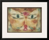 Cat and Bird Print by Paul Klee