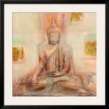 Buddha I Art by Elvira Amrhein