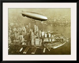 The Hindenburg Airship,1936 Poster