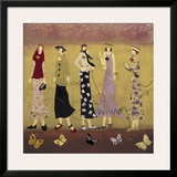 A Walk In Spring Prints by Genevieve Pfeiffer