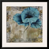 Poppy Blue Prints by  Timo