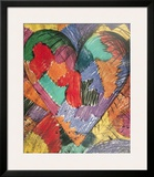 Heart Posters by Jim Dine