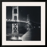 Golden Gate Nightscape Prints by Bill Voight