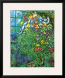 Le Bouquet Ardent Posters by Marc Chagall