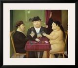 I Giocatori di Carte Posters by Fernando Botero