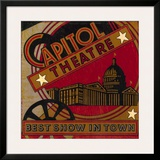 The Best Show In Town Posters by Bruce Jope