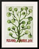 Roland Garros 2011 Posters by Barthelemy Toguo