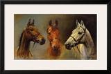 We Three Kings Posters by Susan Crawford