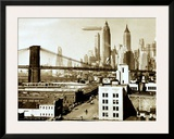 Airship NYC, 1938 Prints