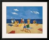 Tango Beach Posters by Michael Paraskevas