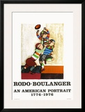 An american portrait Prints by Graciela Rodo Boulanger
