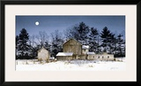 Pine Ridge Framed Giclee Print by Ray Hendershot