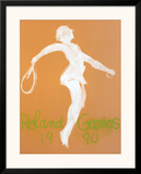Roland Garros Posters by Claude Garache