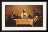 The Last Supper Print by Gebhard Fugel