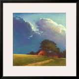 Summer Storm Art by Sandy Wadlington