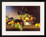 Still Life with Fruit Prints by James Peale