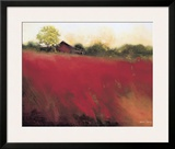 Red Land Framed Giclee Print by Thomas Stotts