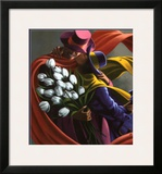 Les Tulips Blanches Prints by Claude Theberge