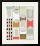 Road Blocks A Framed Giclee Print by Jenn Ski