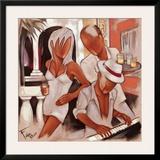 Havana Piano Print by Pierre Farel