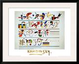 Succession, c.1935 Poster by Wassily Kandinsky