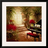 Illuminated Music Room Art by  Foxwell