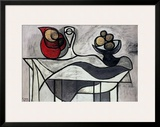Pitcher and Bowl of Fruit Prints by Pablo Picasso