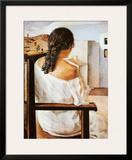 Muchacha de Espalda Posters by Salvador Dalí