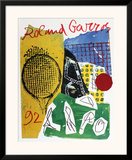 Roland Garros Posters by Jan Voss