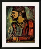Old King Poster by Georges Rouault