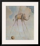 L'Elephante Giraffe Posters by Salvador Dalí