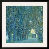 Viale Alberato Art by Gustav Klimt