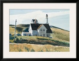 Hill And House, Cape Elizabeth, Maine; 1927 Prints by Edward Hopper