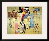 Milieu Accompagne Art by Wassily Kandinsky