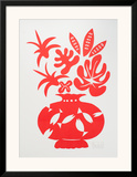 Vase II Rouge Prints by Marco Del Re