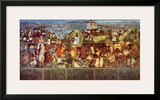 The Great City of Tenochtilan Prints by Diego Rivera
