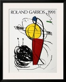 Roland Garros Art by Joan Miró