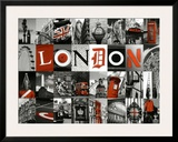 Mosaïque London Print by Jean-jacques Bernier