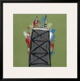 Chicago Tower Framed Giclee Print by Brian Nash