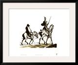 Don Quixote Prints by Honore Daumier