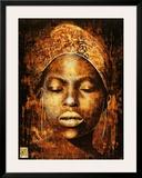Female Eyes Open Prints by Fabienne Arietti