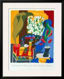Supermarket - Flora 1996 Print by Jacob Lawrence