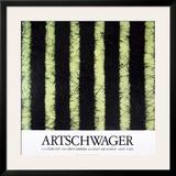 At Castelli's Print by Richard Artschwager