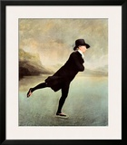 Reverend Robert Walker Skating on Duddin Posters by Sir Henry Raeburn